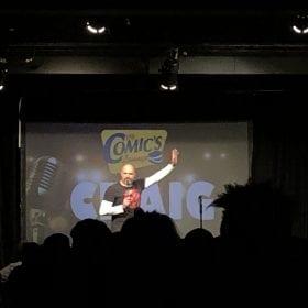 Craig Millar standup performance